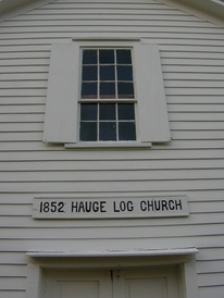 1852 Hauge Log Church
